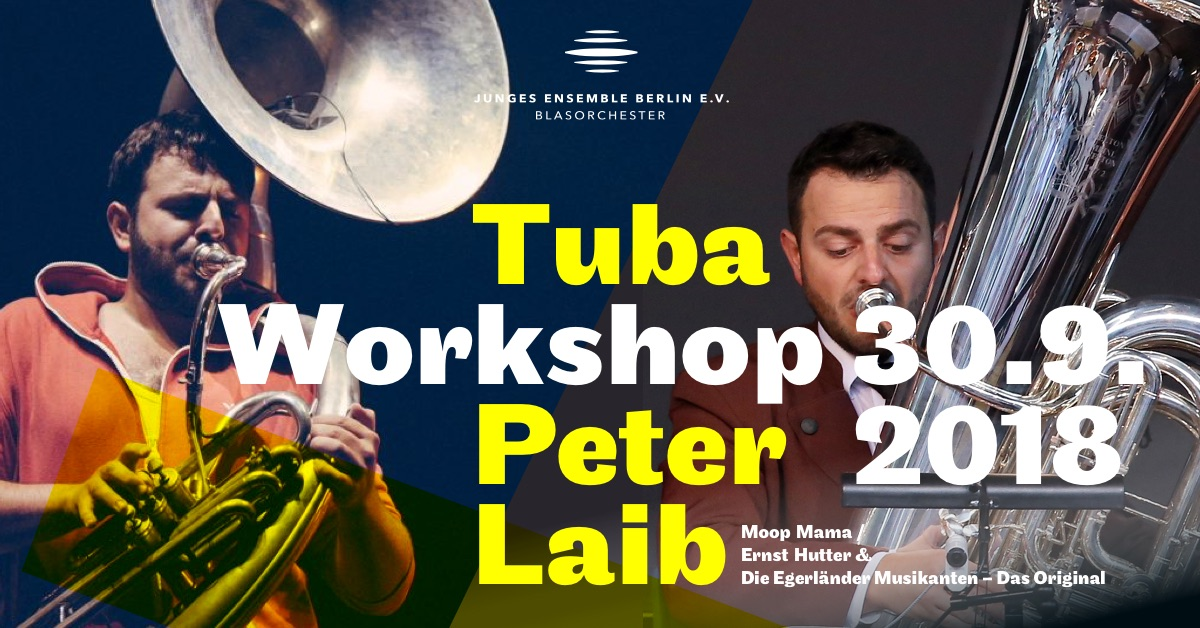 Peter Laib Workshop für Tuba